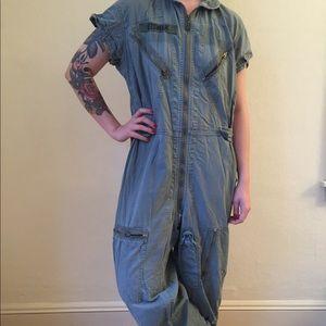 """Vintage coveralls jumpsuit """"Eisman"""" TopGun"""
